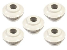 """Pool and Spa Eyeball Jet 1.5"""" Threaded to 3/4"""" Open 5 in a Package White... - $13.64"""