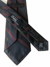 "Polo Ralph Lauren Men's Blue/Red Striped Horse Motif Silk Tie - 58.5""L X... - $59.39"