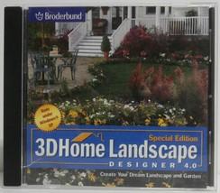 Special Edition 3-D Home Landscape Designer 4.0   Broderbund - $9.46