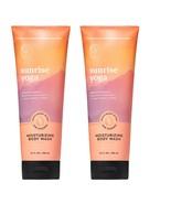 2 Bath & Body Works Aromatherapy SUNRISE YOGA Moisturizing Body Wash 10 ... - $22.72