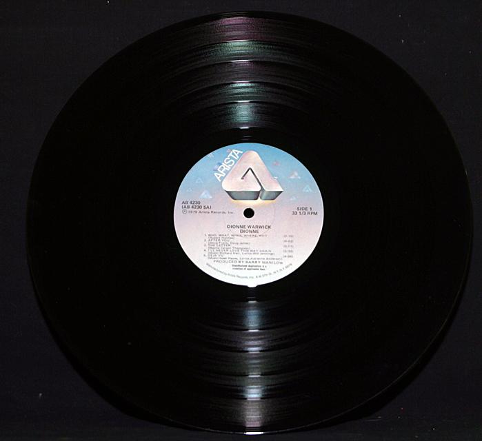 "Dionne Warwick   ""Dionne""  Arista Records AB-4230  LP"