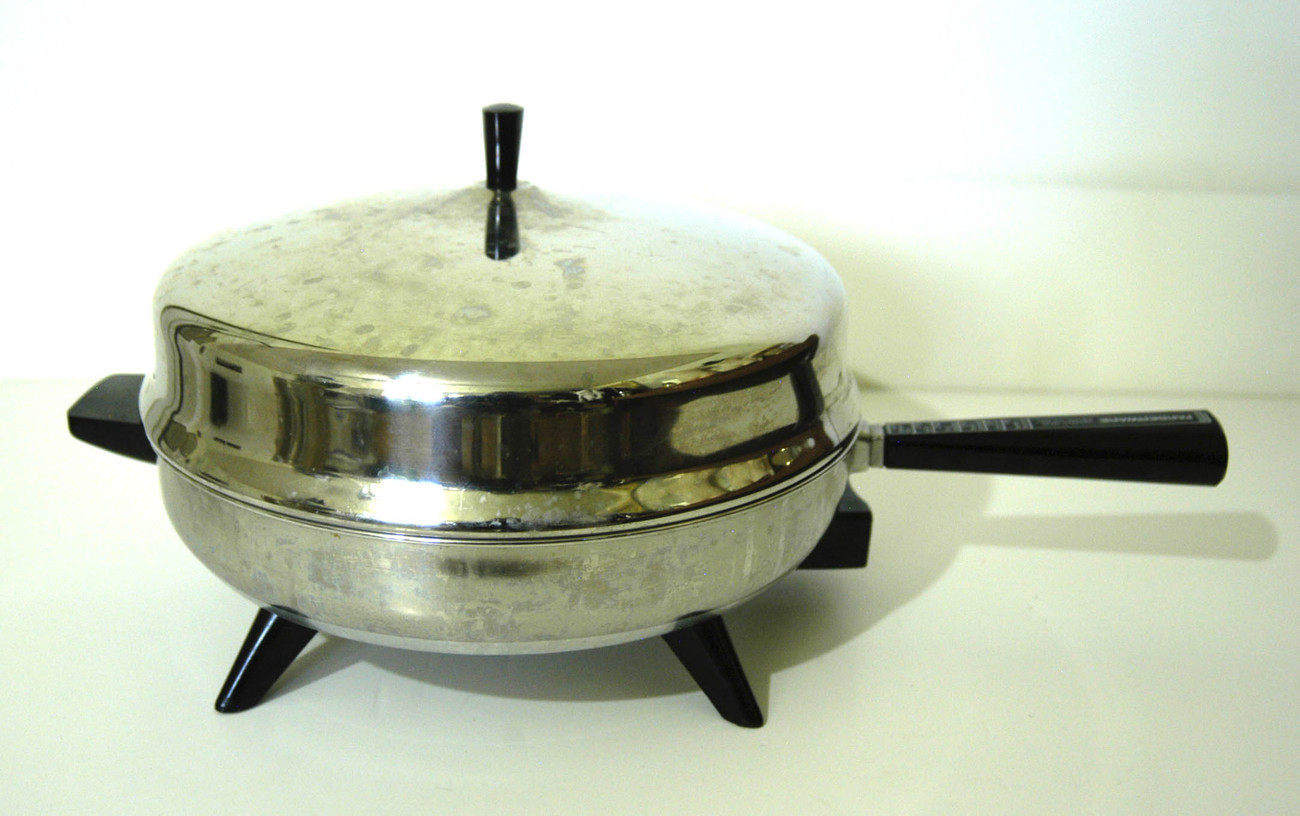 Farberware 12 Stainless Steel Electric Fry Pan Dome Lid