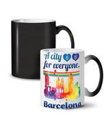Gay Pride Love Barcelona NEW Colour Changing Tea Coffee Mug 11 oz | Well... - $19.99