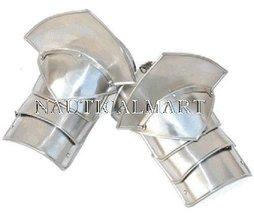 NauticalMart Women's Pauldrons With Sword Breakers- 20 Gauge Steel  - $129.71