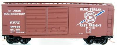 Micro Trains 23030 SSW 40' Boxcar 46435
