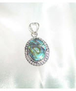 Haunted Lovely Lively Sultry Sprite Fairy– Pretty Abalone Shell Pendant & Chain - $19.95
