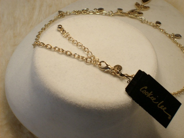 Cookie Lee Genuine Abalone Teardrop Necklace - Item #18291 - New! image 4