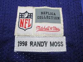 RANDY MOSS / HALL OF FAME / AUTOGRAPHED MINNESOTA VIKINGS THROWBACK JERSEY / COA image 6