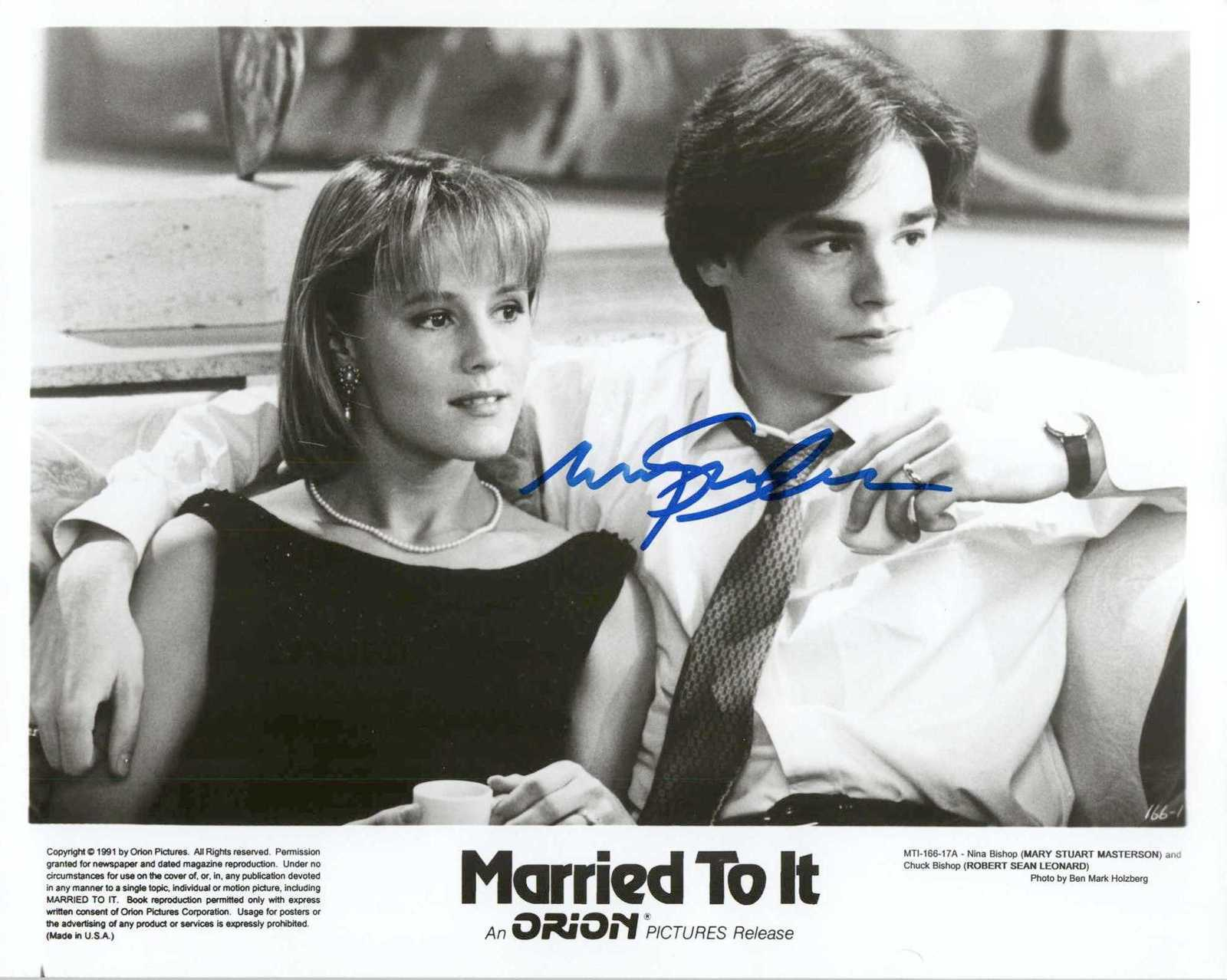 "Primary image for Mary Stuart Masterson Signed Autographed ""Married To It"" Glossy 8x10 Photo"