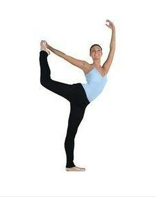 Primary image for Harmonie by Capezio ROLLDWN Black Adult Small Knitted Tights w/ Roll Down Waist