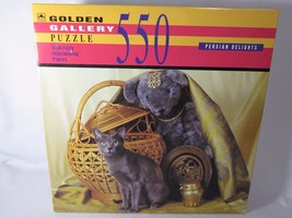 Golden Gallery Puzzle Persian Delights Cat 550 Piece - $7.75