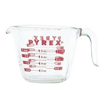 Pyrex 885107797882 6001074 Measuring Cup, 8 Oz, Crear - $12.77