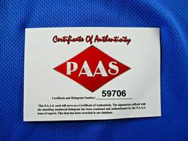 LUKA DONCIC / AUTOGRAPHED DALLAS MAVERICKS PRO STYLE BASKETBALL JERSEY / COA image 10
