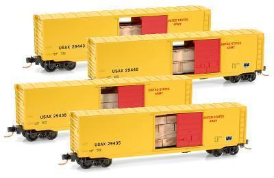 Micro Trains 99300019 U.S. Army Runner Pack with Loads