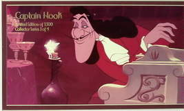 Disney Tinkebell Capt. Hook Lithograph Lt.Ed. 1500 - $93.99