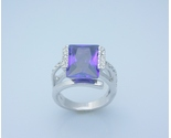 Alexandrite princess cut fashion ring  10  thumb155 crop