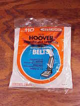 Pack of 2 Hoover Vacuum Cleaner Belts Style 110, Convertible Uprights, RM121186 - $5.75
