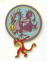 Disney DL 45th Anniv Parade Mushu Maleficent Dragon Pin - $34.99