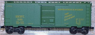 Micro Trains 20330 M&StL 40' Boxcar 5124