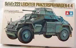 1/35 Sd.kfz 222 Leichter Panzerspahwagen(4X4) Kit No MM151 Series No. 51 - $24.75