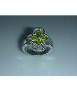 Peridot Four Leaf Clover Cubic Zirconia Ladies ... - $20.00