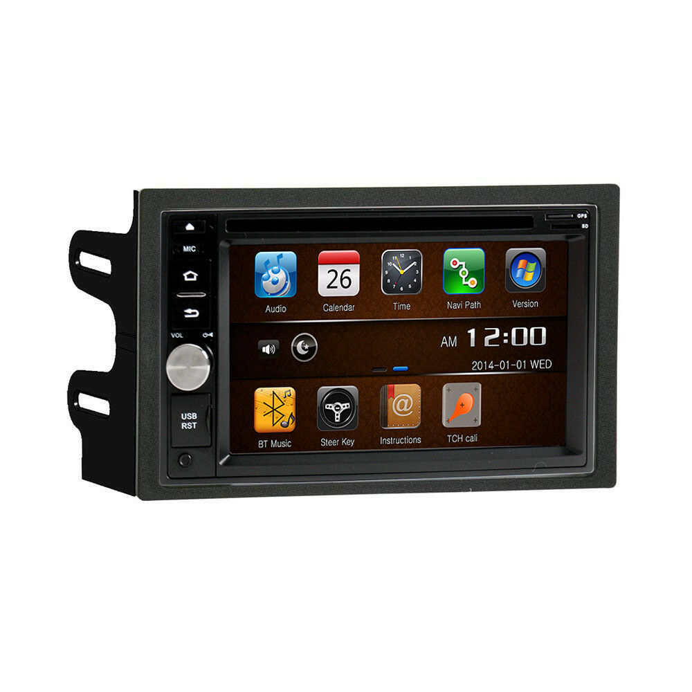 DVD GPS Navigation Multimedia Radio and Dash Kit for Volkswagen Jetta 2004