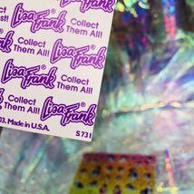 Full Prism Lisa Frank Sticker Sheets S738 S731 Violet Lollipop Rainbow Chaser image 9