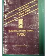 1988 CUTLASS CRUISER OWNERS OPERATORS MANUAL - £17.96 GBP