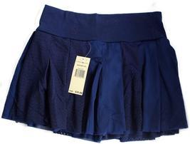 NEW NWT TOMMY HILFIGER JEANS WOMEN'S PREMIUM SPORTY TENNIS MINI SKIRT NAVY BLUE image 5