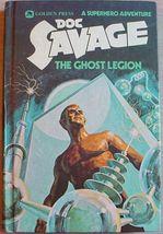 DOC SAVAGE #3 THE GHOST LEGION vintage Golden Press HC Superhero Adventure - $6.99