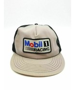 Vintage Stylemaster Mobil 1 Racing Trucker Hat Men's Snapback One Size F... - $42.56