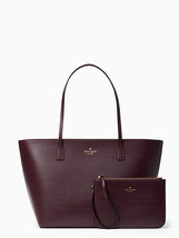 KATE SPADE bennet place small harmony and wristlet set COLOR mahogany - ₨10,429.31 INR