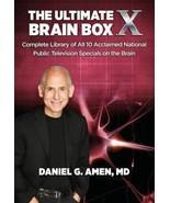 The Ultimate Brain Box X by Daniel G. Amen (2015, DVD) - $8.95