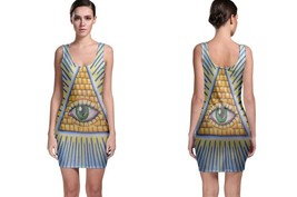 Bodycon Dress The All Seeing Eye - $22.99+