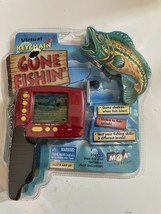 1998 Gone Fishin' Electronic Virtual Vibrating Fishing Handheld Game Brand New - $23.71