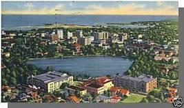 Nice ST. PETERSBURG, FLORIDA/FL POSTCARD, Aerial View - $4.00