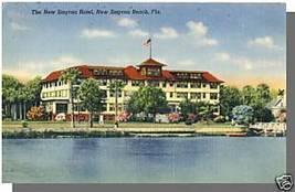 NEW SMYRNA BEACH, FLORIDA/FL POSTCARD, New Smyrna Hotel - $4.00