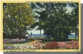ST. PETERSBURG, FLORIDA/FLPOSTCARD, Waterfront Park - $4.00