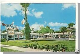 Striking DAYTONA, FLORIDA/FL POSTCARD, Nitefall Motel - $4.00