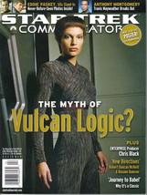 Star Trek Communicator Fan Club Magazine #143, Decipher 2003 VERY FINE+ - $9.74