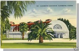 CLEARWATER, FLORIDA/FL POSTCARD, Clearwater Auditorium - $5.00