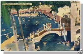 CORAL GABLES, FLORIDA/FL POSTCARD, Venetian Pool, 1956 - $4.00