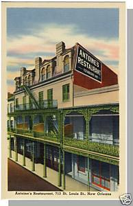 NEW ORLEANS, LOUISIANA/LA POSTCARD,Antoine's Restaurant