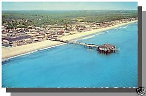 OLD ORCHARD BEACH, MAINE/ME POSTCARD, Amusement Park