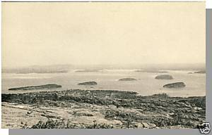Nice BAR HARBOR, MAINE/ME POSTCARD, Porcupine Islands