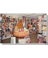 MANCHESTER, VERMONT/VT POSTCARD, Stamford Yarn Shop - $5.00