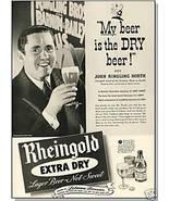 1940 RHEINGOLD BEER AD, Ringling/Barnum Bailey Circus - $8.00