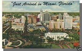 Nice MIAMI, FLORIDA/FL POSTCARD, Just Arrived In Miami - $4.50