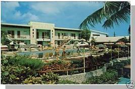 MIAMI, FLORIDA/FL POSTCARD,Vagabond Motel/Biscayne Blvd - $4.50
