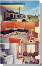 Nice MIAMI, FLORIDA/FL POSTCARD, Crandon Courts Motel - $5.00